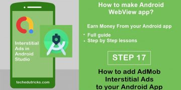 How to add AdMob Interstitial Ads to your Android App