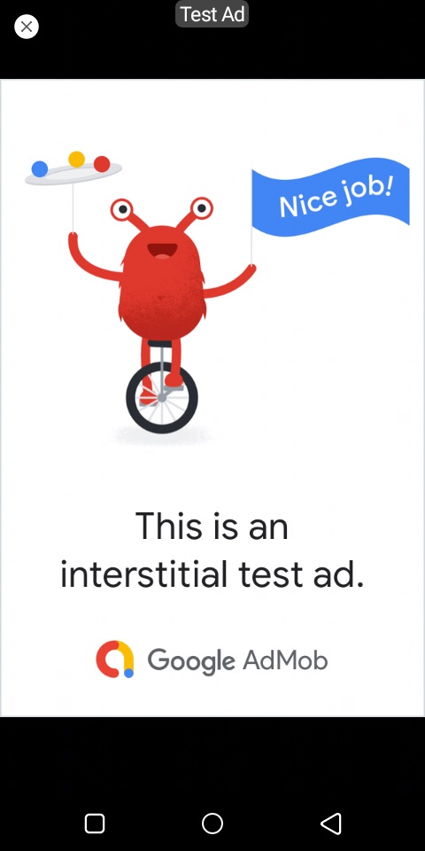 AdMob Interstitial Ads to your Android App
