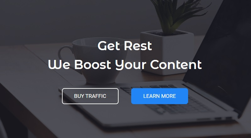get rest we boost your content