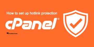 How to set up hotlink protection