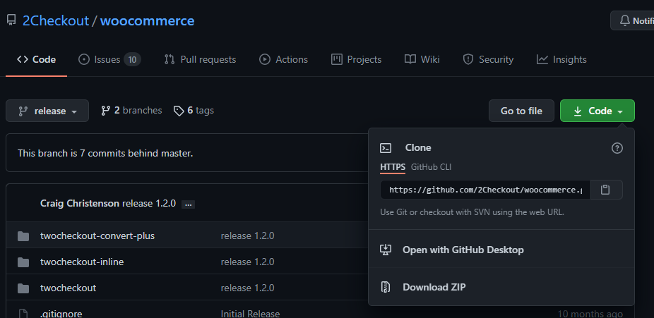 Download or clone the extension from Github